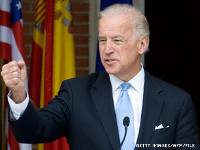 Vice President Biden will campaign for Ohio Democratic Senate nominee Lee Fisher.