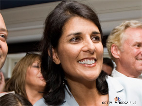 South Carolina GOP calls Nikki Haley's rival 'a liberal in a moderate's clothes.'