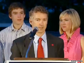 Rand Paul will be in Washington Thursday for a fundraiser.