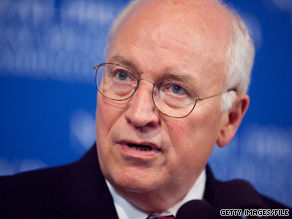 After reporting he wasn't feeling well, former Vice President Cheney has been admitted to a hospital in Washington.