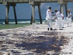 Costs associated with the Gulf oil disaster have gone up more than $300 million in less than a week, BP said Friday.
