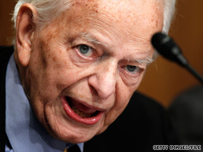 Sen. Robert Byrd, age 92, is the longest-serving Congress member in history.