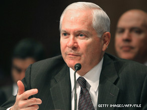 Defense Secretary Robert Gates announced a new cost cutting strategy on Monday.