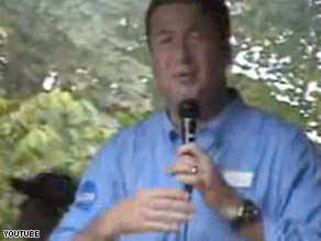 Former Sen. George Allen was taped in 2006 using a slur at a campaign event. The DNC is launching a new website designed to capture similar moments.