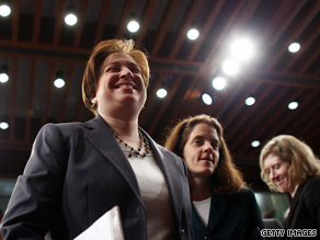  Kagan said Tuesday she did break down during one part of the confirmation process.