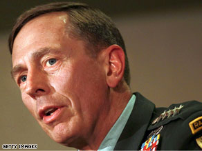 Gen. David Petraeus is on Capitol Hill Tuesday facing confirmation hearings.