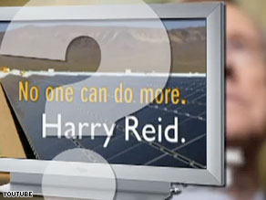 A new television ad from American Crossroads targets Sen. Harry Reid.