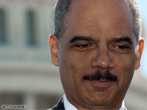 Attorney General Eric Holder is in Afghanistan.