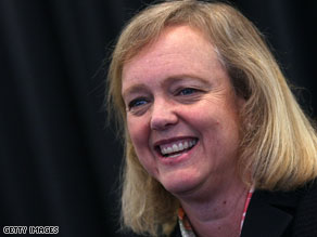 A new poll indicates Republican gubernatorial hopeful Meg Whitman trails Attorney General Jerry Brown.