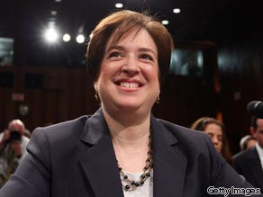 Videos of Elena Kagan show she raised questions about Harriet Miers and praised Obama.  CNN's Jim Acosta reports.