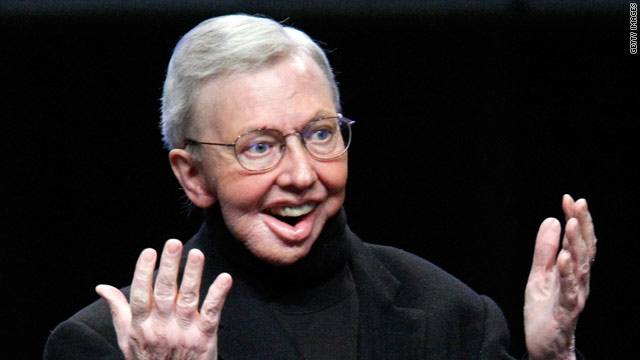 Roger Ebert cooks up a book