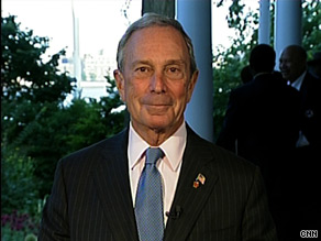 'He has focused on health care.  He has focused on financial reform.  In all fairness to the president, he came in with a terrible economy and a very fractured, partisan Congress,' Mayor Bloomberg said of the president.