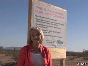 Arizona Gov. Jan Brewer says she's not happy with the president's border response.