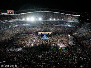 Denver hosted the 2008 DNC convention. The 2012 finalists are Charlotte, Cleveland, Minneapolis and St. Louis.