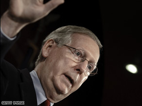 Sen. Minority Leader Mitch McConnell said Monday that the Tea Party movement is not racist.