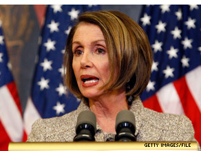 A group of moderate and conservative House Democrats is urging Speaker Nancy Pelosi to temporarily extend all the Bush era tax cuts.