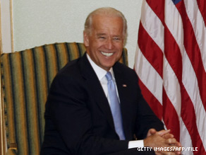 'I think we're going to do a great deal better than anyone gives us credit for,' Biden said of Democrats' chances in the 2010 elections.