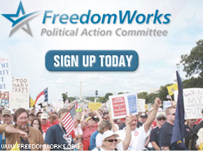 Colorado Republican Senate candidate Ken Buck has won the backing of FreedomWorks, a nonprofit organization associated with the Tea Party movement.