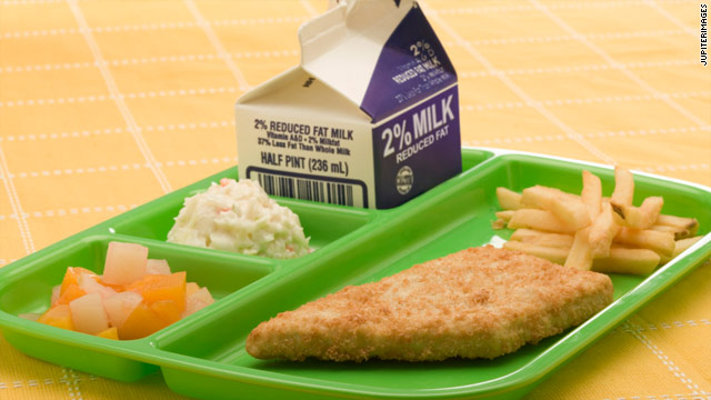 Lunchtime poll – school lunch