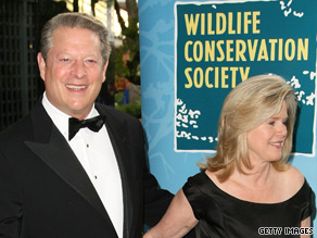 A friend says Tipper Gore does not believe the recent allegations leveled at her husband.