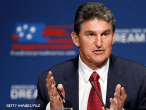 West Virginia Gov. Joe Manchin told reporters that he is considering seeking the late Sen. Robert Byrd's Senate seat.