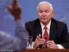 Defense Secretary Robert Gates on Thursday defended rules governing the military's interaction with the media.