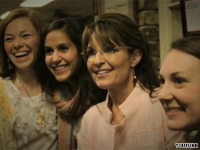 Palin is out with her first Web video that has the feel of a campaign commercial.