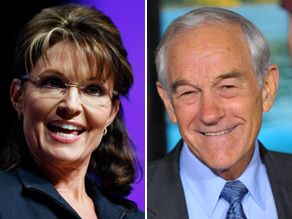  Palin and Paul, two celebrities of the tea party movement, differ markedly on military spending.