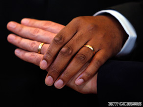 Americans are split on the issue of same-sex marriage, according to a new CNN poll.