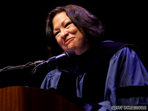 Supreme Court Justice Sonia Sotomayor's memoir will be published by Knopf Publishing.