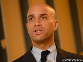 A top supporter of incumbent Washington D.C. Mayor Adrian Fenty compared his re-election bid to the crucifixion of Jesus Christ.