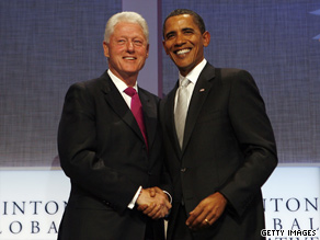 President Obama and Bill Clinton are putting together an aggressive campaign and fundraising schedule.