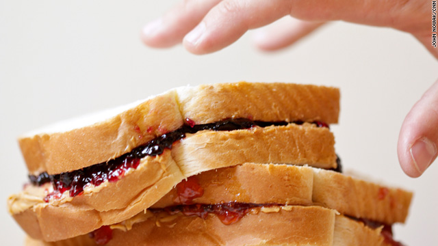 Lick the screen – peanut butter & jelly