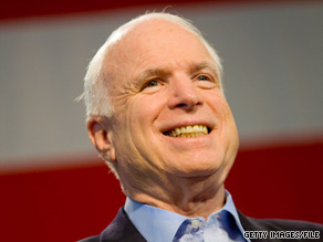 A new poll shows Sen. John McCain has a strong lead in the Arizona Republican primary race.