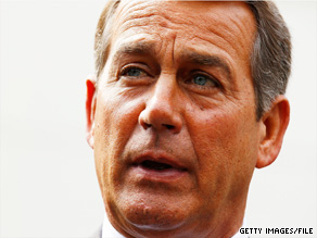 House Minority Leader John Boehner pushed Thursday for an extension of all of the Bush tax cuts.