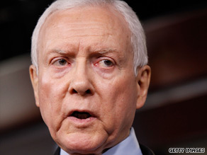 Sen. Orrin Hatch spoke out Thursday on Capitol Hill.