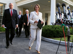 Pelosi is calling back members of Congress for a vote on state funding.
