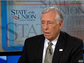 House Majority Leader Steny Hoyer pointed to a trio of Democratic victories in special House elections to downplay the notion that his party will suffer big losses this November.