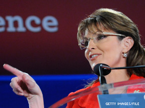 An event featuring Sarah Palin has not proved to be a big sell.
