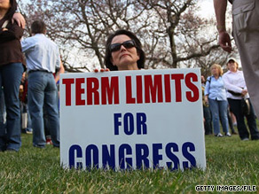 Term limits are like political junk food, according to one expert.