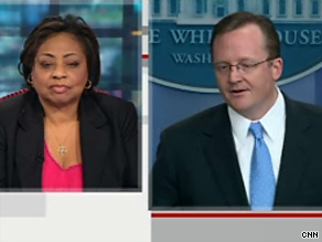 Shirley Sherrod watched Wednesdays White House daily press briefing live on CNN.