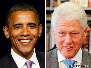 A new poll suggests former President Bill Clinton is more popular among Americans than President Obama.