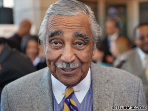 Ten House Democrats have called for embattled Rep. Charlie Rangel to resign.