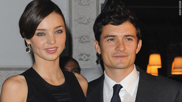 Orlando Bloom and Miranda Kerr tie the knot