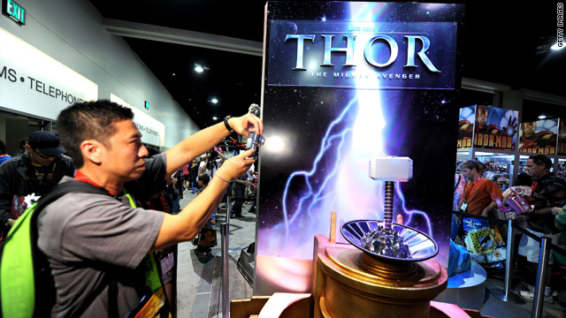 Will 'Green Lantern' and 'Thor' deliver at Comic-Con?