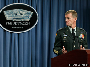 A ceremony honoring retiring Army Gen. Stanley McChrystal is scheduled for Friday in Washington.