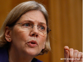 Elizabeth Warren is among those being considered by President Obama to head the Consumer Financial Protection Bureau.
