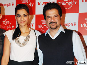 Anil and Sonam Kapoor are your Connector of the Day.