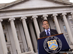 Treasury Secretary Tim Geithner said Sunday he wants to let the Bush tax cuts expire for the wealthiest Americans.