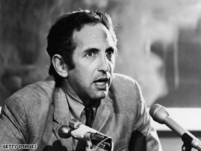 Daniel Ellsberg, who played an instrumental role in the release of the Pentagon Papers, is pictured in this file photo.